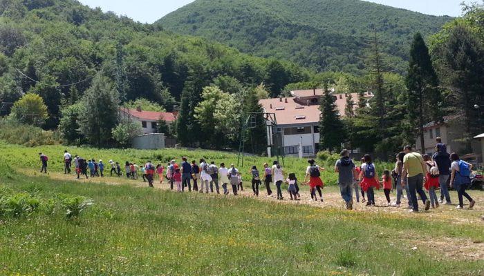 escursioni bambini montagna calabria camigliatello